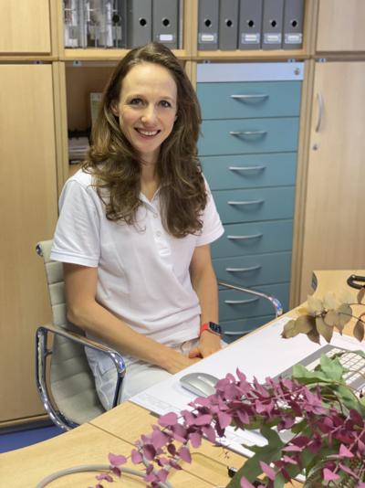 Cora Wirth, Fachärztin für innere Medizin